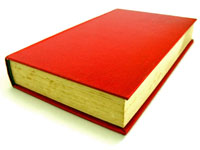 image of a red book